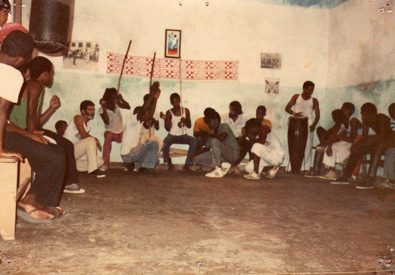 1984, Salvador, academie de joao pequenho